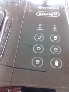 DeLonghi Touch Display