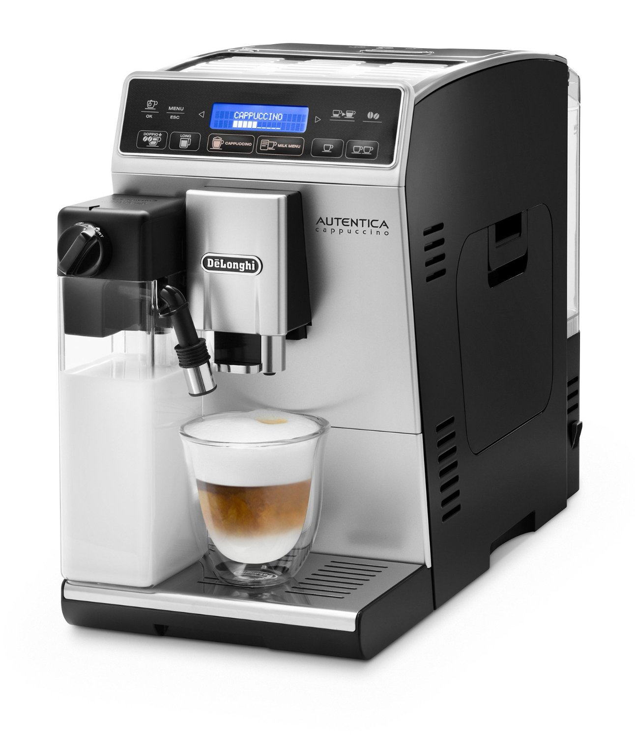 delonghi etam autentica cappuccino test. Black Bedroom Furniture Sets. Home Design Ideas