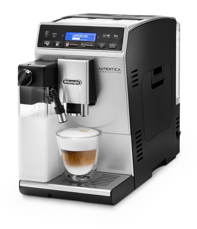 delonghi etam autentica cappuccino test kaffeevollautomat testsieger 12 14. Black Bedroom Furniture Sets. Home Design Ideas