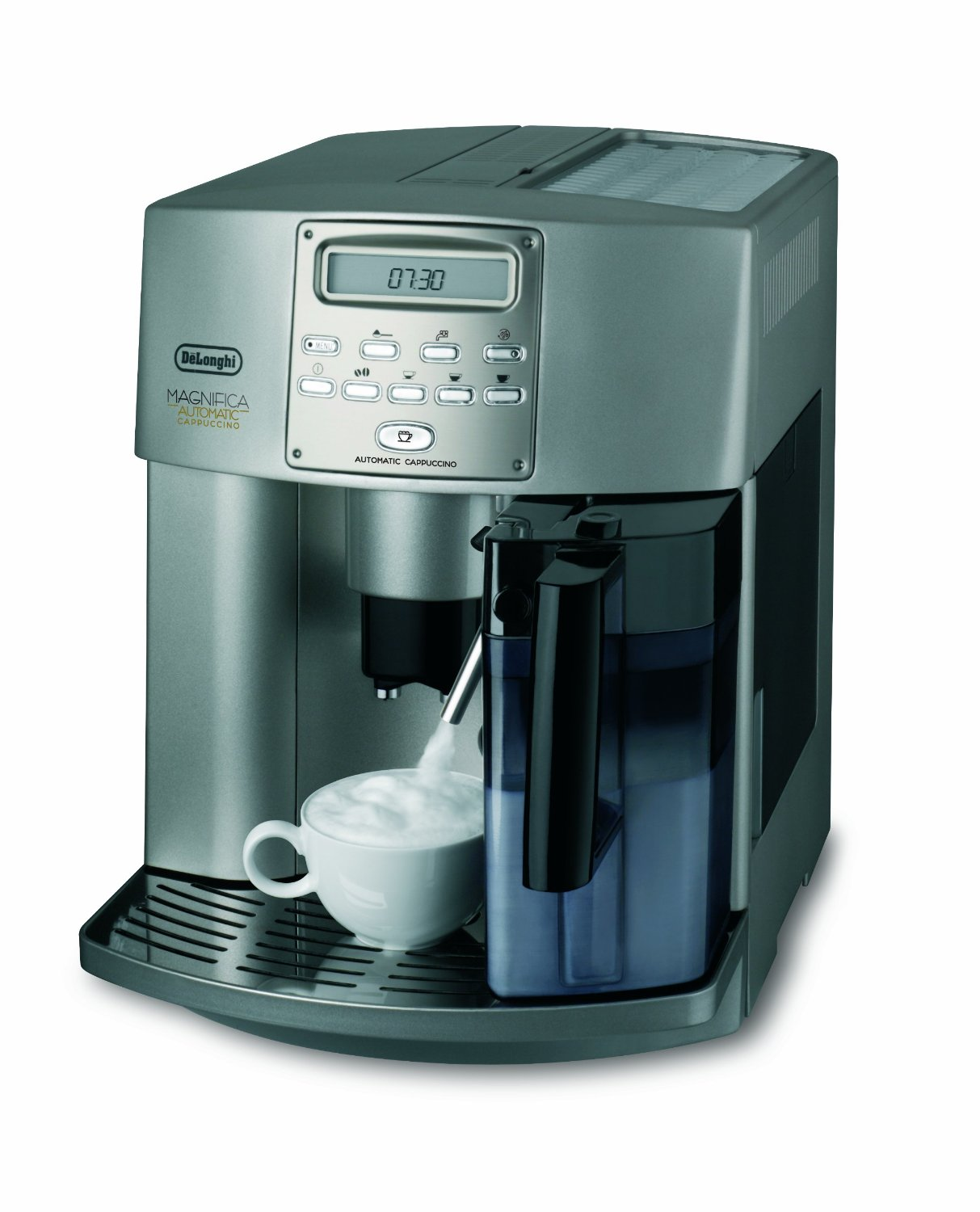 delonghi esam 3500 s test kaffeevollautomat automatic cappuccino. Black Bedroom Furniture Sets. Home Design Ideas