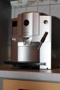 Kaffeevollautomat in Küche