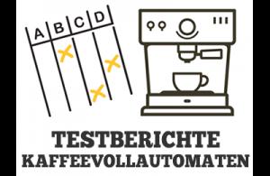 Kaffeevollautomaten Testberichte Illustration