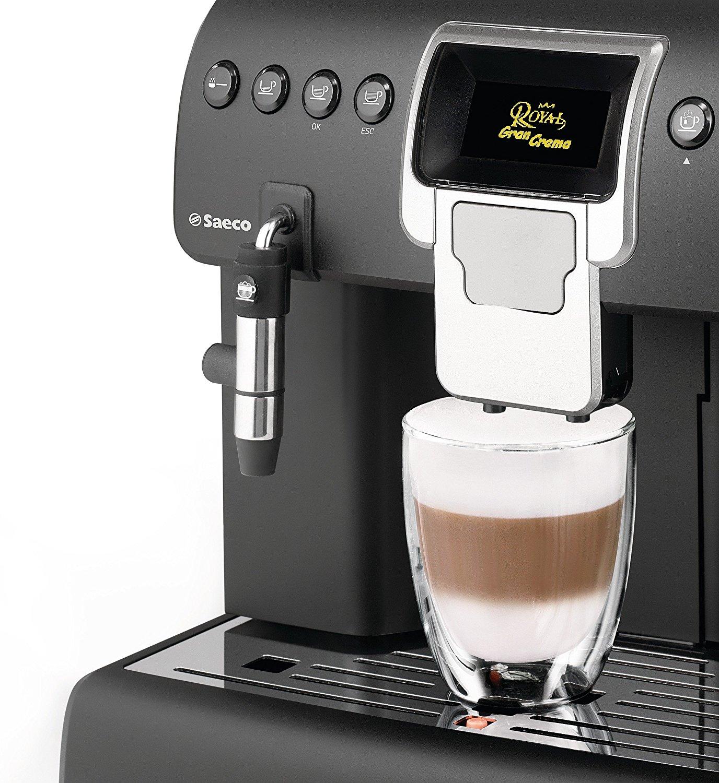 saeco hd8920 01 royal gran crema kaffeevollautomat test schnell und sehr guter kaffee. Black Bedroom Furniture Sets. Home Design Ideas