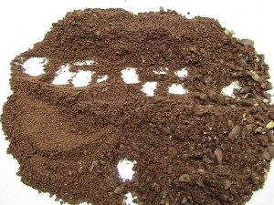 Kaffeepulver - Grobe, mittlere und feine Mahlung