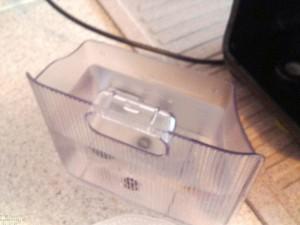 Wasserbehälter einer Kapselmaschine